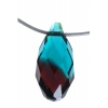 Burgundy-blue Zircon
